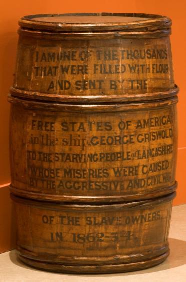 Flour Barrel Revealing Histories